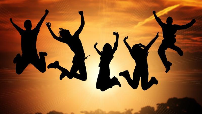 Herrscht die Freude in Deinem Leben?