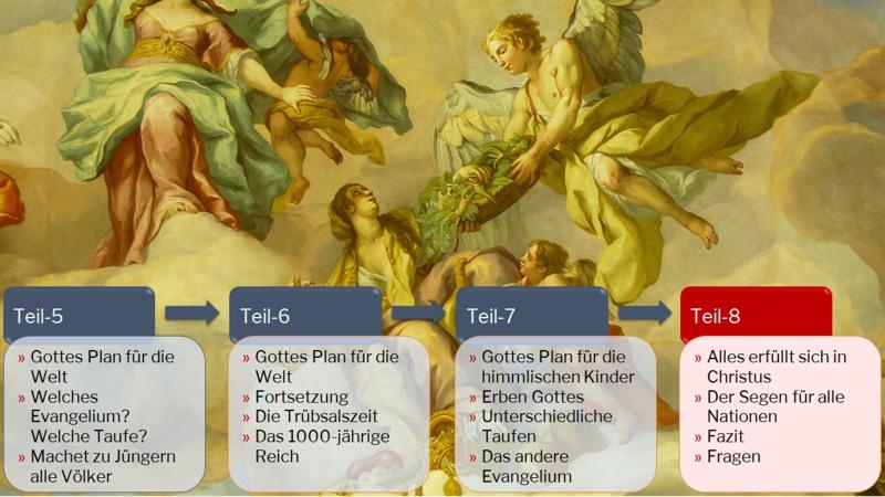 Der Plan Gottes Teil-8